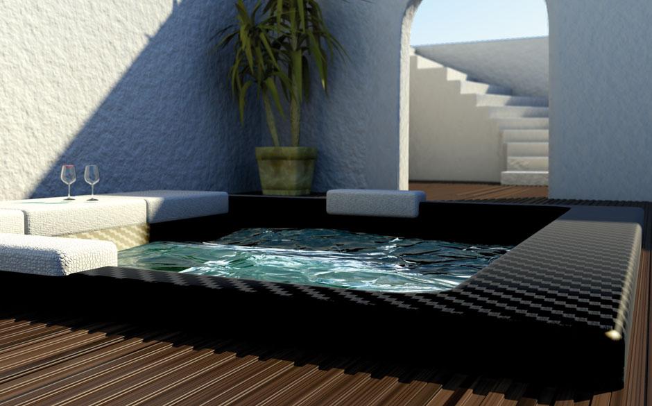 Corcel carbon luxus badewanne design und planung for Bad luxus design