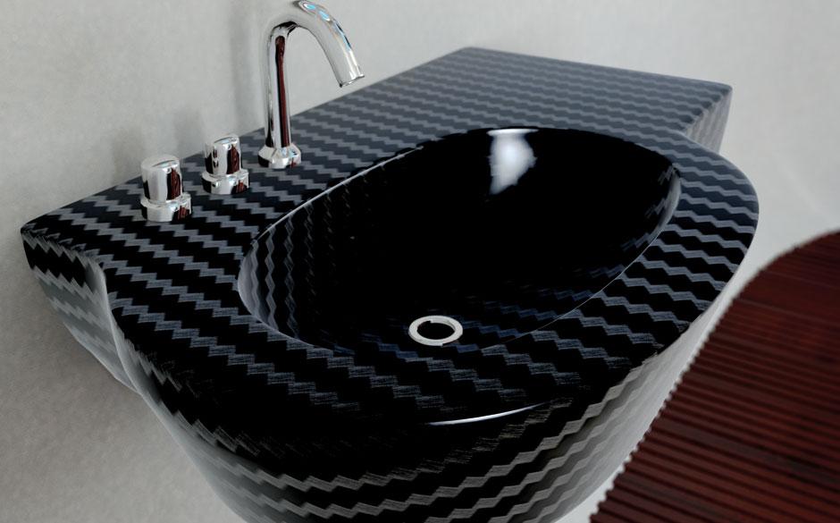 Carbon fiber bathtub add a carbon fibre tub and sink t for Carbon fiber hammock bathtub